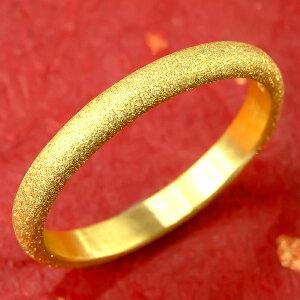 純金 24金 ゴールド k24 指輪 ピンキーリング 地金リング 21-25号 ストレート メンズ 送料無料 人気