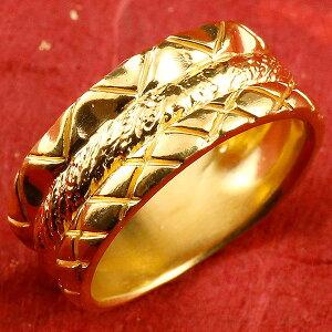 24金 指輪 メンズ 純金 リング 幅広 k24 24k ゴールド ピンキーリング 重ね付けデザイン 男性用 人気 送料無料