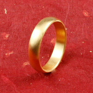 純金 24金 ゴールド k24 幅広 指輪 ピンキーリング 婚約指輪 エンゲージリング ホーニング加工 つや消し 地金リング 16-20号 ストレート メンズ の 送料無料 人気