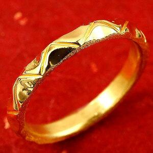 純金 メンズ 24金 ゴールド k24 指輪 ピンキーリング ホーニング加工 鏡面加工 婚約指輪 エンゲージリング 地金リング 1-16号 ストレート 送料無料