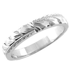 ハワイアンジュエリー メンズ ハワイアンリング 指輪 シルバー925 SV925 マイレ ハワイストレート 男性用 送料無料 父の日