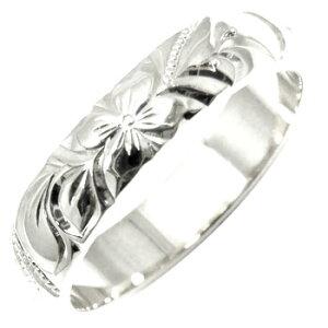 ハワイアンジュエリー ハワイアンリング 指輪 プラチナリングストレート 送料無料 LGBTQ ユニセックス 男女兼用