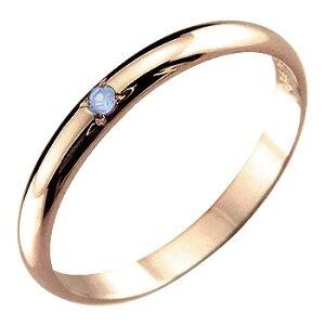 メンズ ピンキーリング タンザナイト リング 指輪 ピンクゴールドk18 12月誕生石18金 ストレート 2.3 男性用 宝石 送料無料 人気