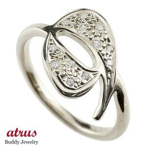 メンズ ピンキーリング ダイヤモンド ナンバー9 シルバー sv935 リング 指輪 数字 ストレート 男性 送料無料