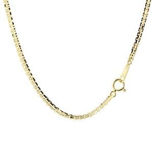 18金ネックレス メンズ 70cm イエローゴールドK18 ベネチアンチェーン 12面カット 地金 ネックレス 18金 18k k18 男性 送料無料