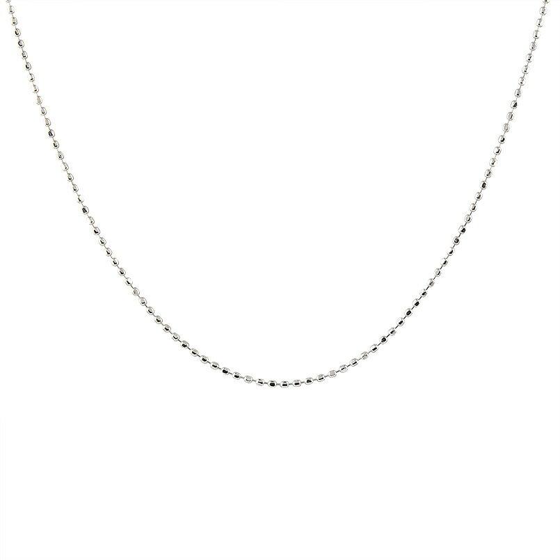 【送料無料】ロングネックレス プラチナ ボールチェーン レディース 80cm 地金ネックレス pt850 ファッション お返し