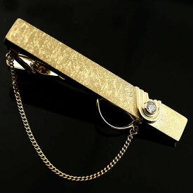 メンズジュエリー タイバー タイピン ダイヤモンド イエローゴールドk18 18金 つや消し 男性用 男性用 贈り物 誕生日プレゼント ギフト ファッション エンゲージリングのお返し