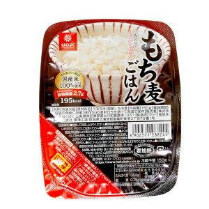 はくばく もち麦ごはん 無菌パック 150g 国産米 パックご飯 ごはん お試し ポイント消化 プチギフト お歳暮
