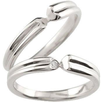 ペアリング ハードプラチナ950 結婚指輪 マリッジリング プラチナ ダイヤモンド 一粒ダイヤモンド ハート ダイヤモンドリング pt950 結婚式 ダイヤ ストレート 贈り物 誕生日プレゼント ギフト ファッション