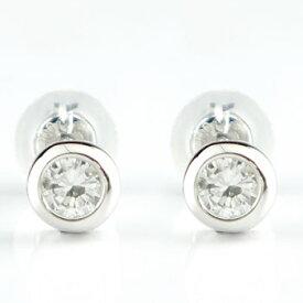 メンズピアスダイヤモンド ピアスプラチナ900ダイヤモンド 1.00ctプラチナピアススタッドピアスダイヤ 男性用 宝石 ファッション エンゲージリングのお返し