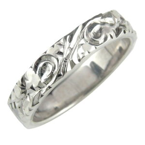 指輪 ピンキーリング シルバーリング オリジナル おシャレな手彫りリング ストレート 送料無料 人気
