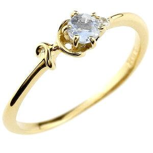 指輪 イニシャル ネーム H ピンキーリング ブルームーンストーン ダイヤモンド 華奢リング イエローゴールドk18アルファベット 18金 レディース 6月誕生石 の 送料無料 人気