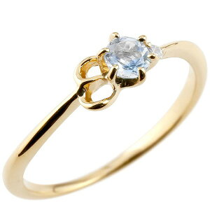 指輪 イニシャル ネーム E ピンキーリング ブルームーンストーン ダイヤモンド 華奢リング イエローゴールドk18アルファベット 18金 レディース 6月誕生石 の 送料無料