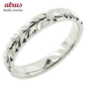 リング ダイヤモンド 一粒 レディース ハワイアンジュエリー 指輪 シルバー sv925 婚約指輪 エンゲージリング ピンキーリング 送料無料