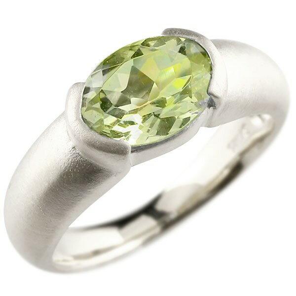 ピンキーリング シルバー 大粒 一粒 ペリドット リング ピンキーリング sv925 指輪 婚約指輪 エンゲージリング 夏
