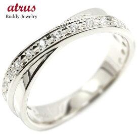 プラチナ 婚約 指輪 リング ダイヤモンド ダイヤ ピンキーリング指輪 エンゲージリング pt900 宝石 レディース 送料無料