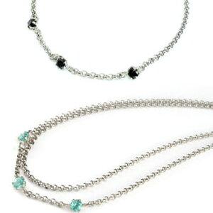 プラチナ ブレスレット ペアブレスレット ブルートパーズ ブラックダイヤモンド スリーストーン チェーン ダイヤ カップル レディース 宝石 送料無料