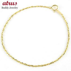 【あす楽】送料無料 24金 ブレスレット レディース チェーンのみ 18cm ゴールド 24K k24 純金 地金 女性 シンプル【suz-2】
