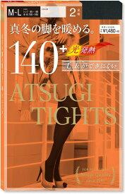 アツギタイツ/ATSUGI TIGHTS 140デニール 2足組 タイツ FP14002P