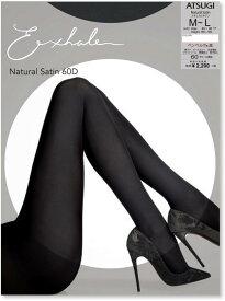 ≪ポイント5倍≫【公式】エクスエール/Exhale Natural Satin 60デニール タイツ なめらかタッチ EX2260