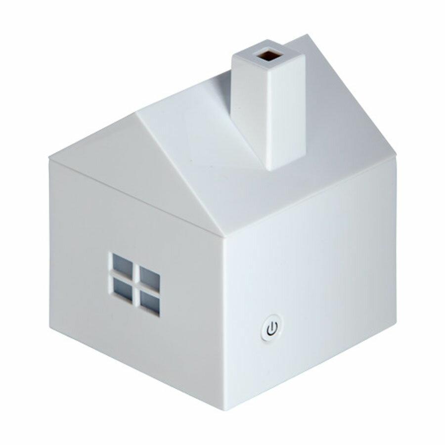 アロマディフューザー 白 キュートな家型 シンプル アロマ・フレグランス HOUSE型 112959