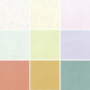メニュー用紙(越前和紙)B5 1セット10枚入り OA和紙金銀雲竜 OB-51 白・クリーム・ピンク・水・草・藤・レンガ・カラシ・ブルー 全9色