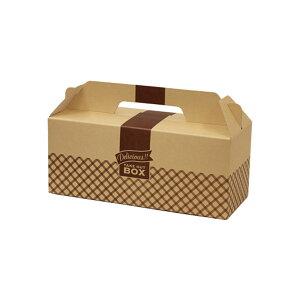 クラフトボックス 200個 266x106x162mm ※電子レンジ不可 ※沖縄・離島 送料別途 クラフトキャリー105 ドーナツ箱・メロンパン箱・シュークリーム箱