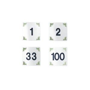 はるサインシート テーブルナンバー 10枚セット 貼るタイプ AS-631 えいむ(Aim)