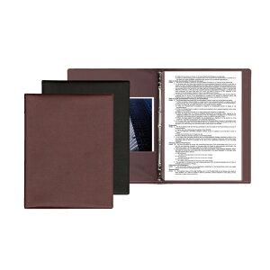 洋風メニューブック 【A4】・8ページ仕様 バインダータイプ スリムB-MU シンビ(SHIMBI)