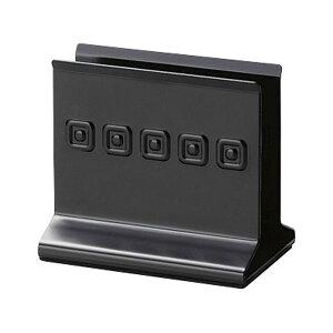 メタルメニューブック立て 118xH105x74xミゾ巾30mm メニューブックスタンド(重量タイプ) BS-60(LL) ブラック メニューブック立て