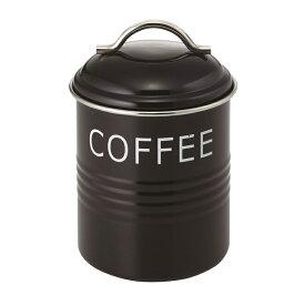 バーネット キャニスター 黒 COFFEE SALUS(セイラス) 4521540244151 キッチン雑貨 コーヒー保存容器 ストッカー 珈琲缶