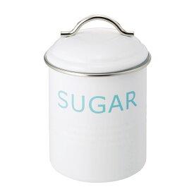 バーネット キャニスター 白 SUGAR SALUS(セイラス) 4521540244229 キッチン雑貨 砂糖保存容器 ストッカー シュガー缶