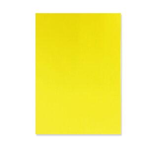 メニュー用紙 イエロー・A4 1冊500枚入り 北越紀州製紙 Newファインカラー