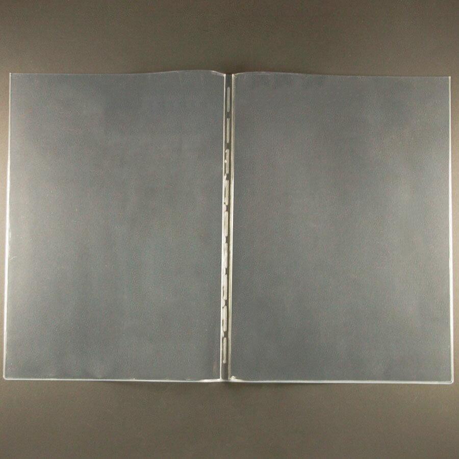 【あす楽対応】ビニール (メニューブック専用) P-A4 塩化ビニール (A4対応) 上入れタイプ