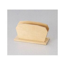 【在庫限り】木製白木メニュー立て 150xH80x60xミゾ巾12mm メニューブックスタンド BS-4(S) えいむ