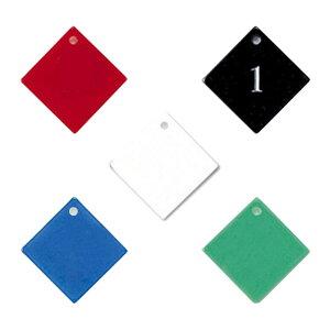 【在庫限り】クローク札 CP-1-1 札のみ 番号札1枚・50個セット 番号札・番号プレート
