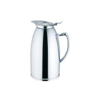 バールポット 0.3L 065071【コーヒーポット・紅茶ポット・ホテル・業務用・保温保冷どっちもOK・ステンレス製】