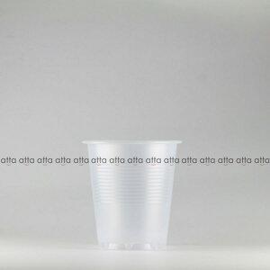 プラカップ 180ml(6オンス) 71mm口径 3000個 (PS製) 6オンスカップ半透明【テイクアウト紙カップ・業務用・使い捨て食品容器】