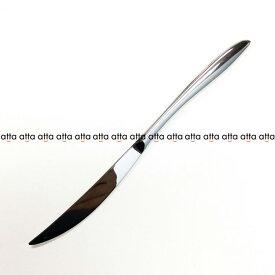 デザートナイフ(共柄)波刃 220mm 18-8 アルビ(ALBI) 005707 トーダイ オールミラー仕上げ