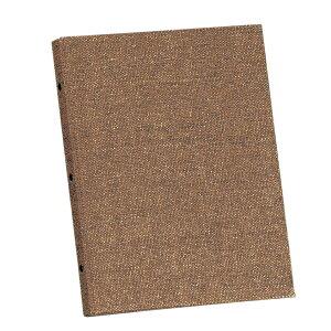 和風メニューブック A4・4ページ 金属・30穴 PB-359 麻タイプバインダーメニュー えいむ(Aim)