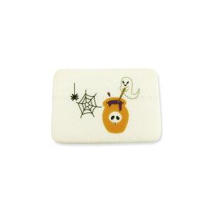 ハロウィンクッキー おばけ 可食プリント ミルククッキー 角型 1セット10個 食べられる印刷 HLKS-0004 ★