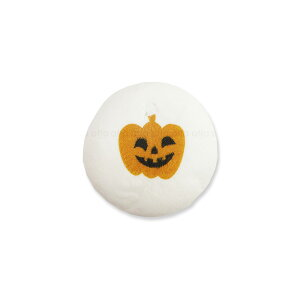 ハロウィンマシュマロ パンプキン柄 丸型 可食プリント チョコクリーム 1セット10個 食べられる印刷 HLKS-0013 ★