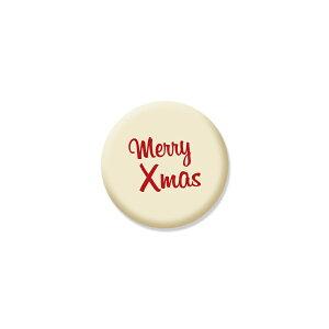 クリスマスクッキー Merry Xmas 可食プリント ミルククッキー 丸型 1セット10個 食べられる印刷 CRKS-0003 ★