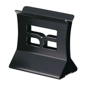 メタルブックスタンド 100xH102x60xミゾ巾11mm メニューブックスタンド BS-31M ブラック メニューブック立て えいむ