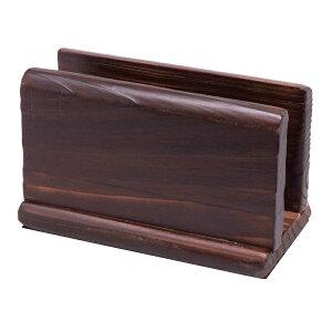 メニューブックスタンド 150xH80x80xミゾ巾30mm 木製 焼杉-16 メニュー立て シンビ