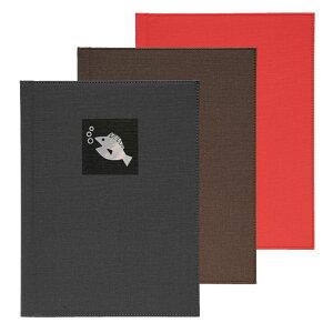 和洋メニューブック A4・4ページ レールタイプ NTS-601(魚) シンビ(SHIMBI)