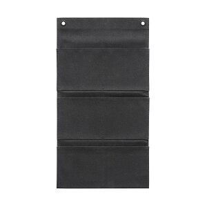 キャンバス・ポストカード (6P) ブラック S-500 ウォールポケット サキ(SAKI COLLECTION) 4990630500017【大判レターフォルダー・壁掛けポケット・サキ壁掛け収納】