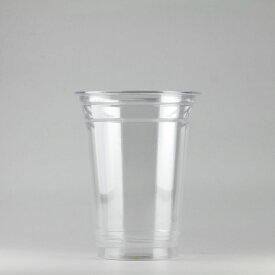 プラカップ 420ml(14オンス) 89mm口径 500個 (PET製) クリアーカップ89-14オンス500入(SK)【テイクアウト紙カップ・業務用・使い捨て食品容器】