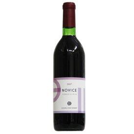 日川中央葡萄酒[ノビス NOVICE マスカットベーリーA 720ml]赤ワイン 辛口 日本ワイン 国産ワイン 山梨
