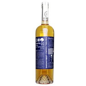Cfaバックヤードワイナリー オープニングアクト 甲州 オールドファッションド 750ml オレンジワイン 白ワイン 辛口 日本ワイン 甲州ワイン 国産[ore]